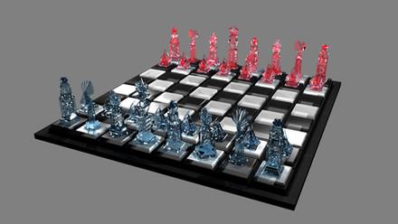 3D Chess Set