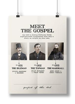 Meet the Gospel Poster-The Guys