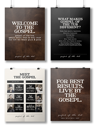 Gospel of the Tub Poster Collection