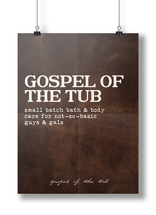 Gospel of the Tub Poster-Leather Edition