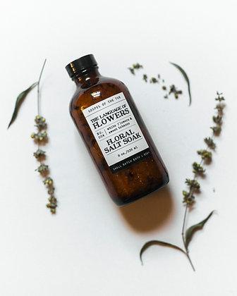 Floral Salt Soak