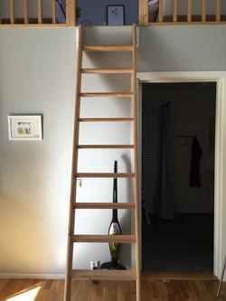 Stege till loftet
