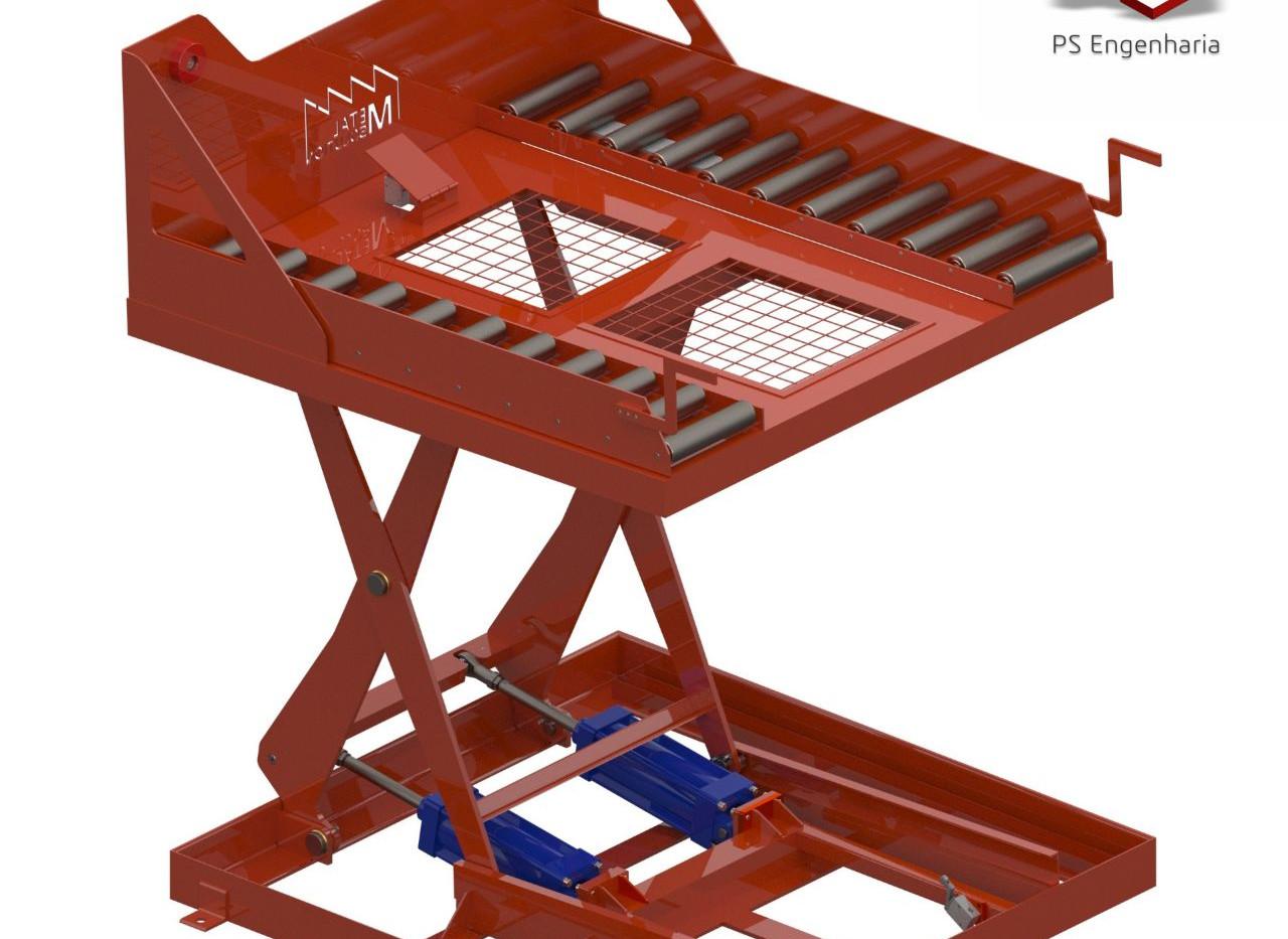 "Projeto de Transportador de Caixas ""Big Box"""