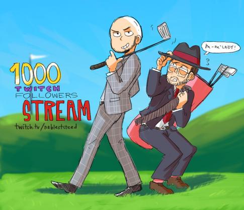 NoblestSteed 1000 Follower Stream (2016)