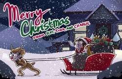 Brownman Christmas Card 2016
