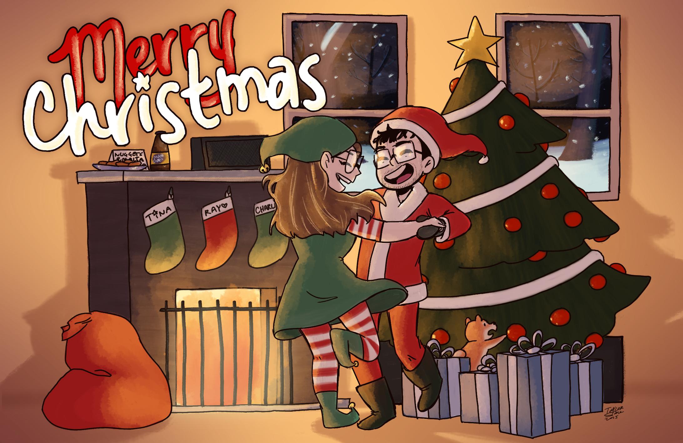 Brownman Christmas Card 2015
