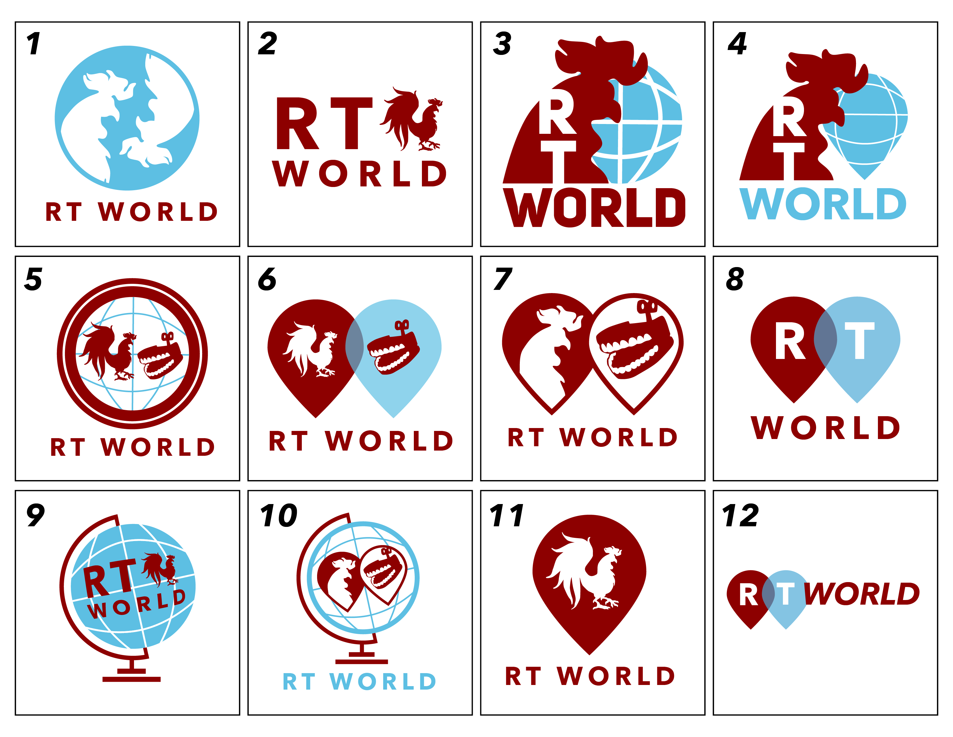 RT World Vector Sketches