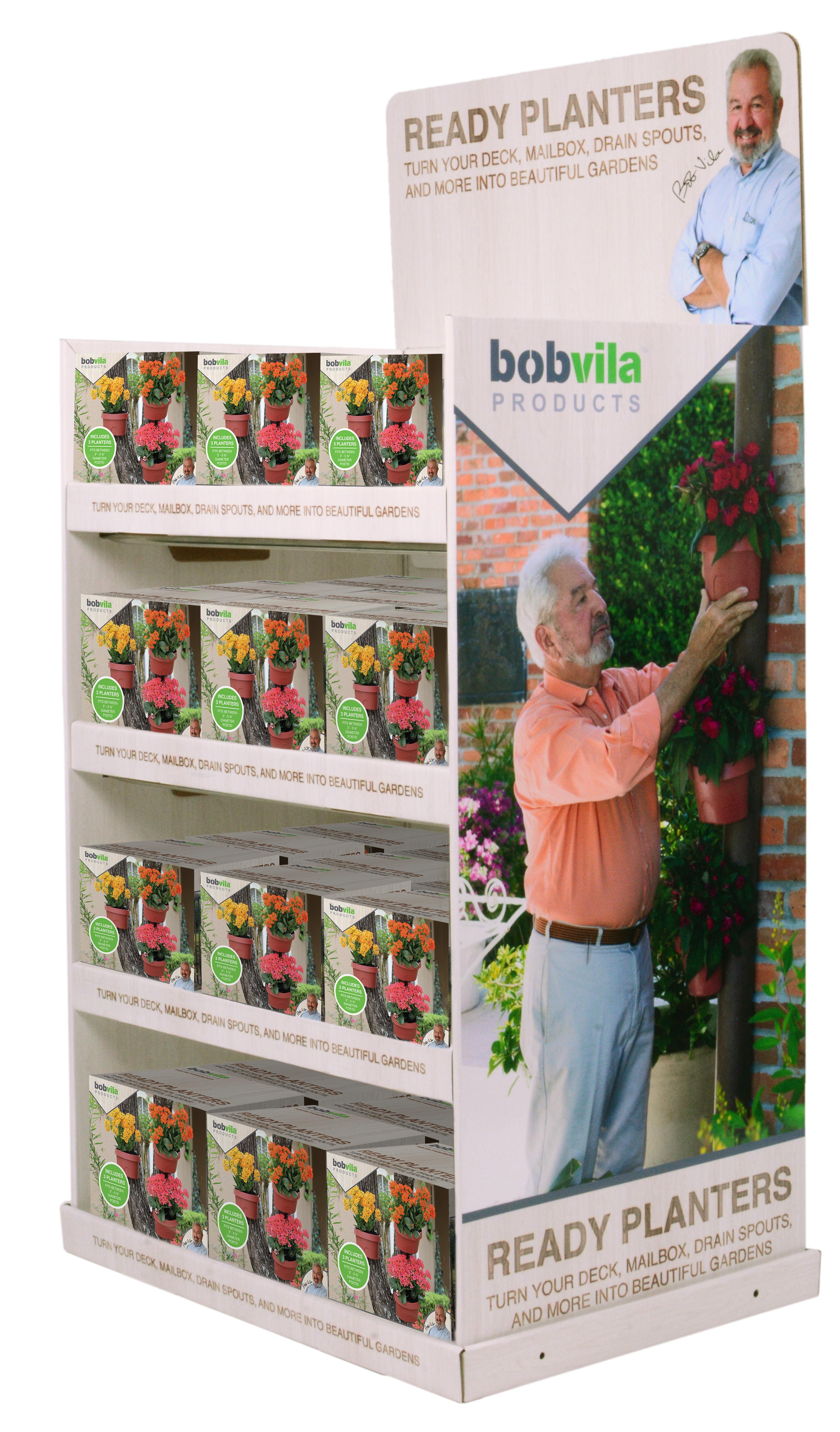 Bob Vila Planter Display