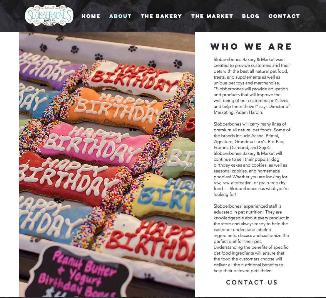 Slobberbones Website