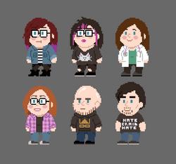 Pixel Friends