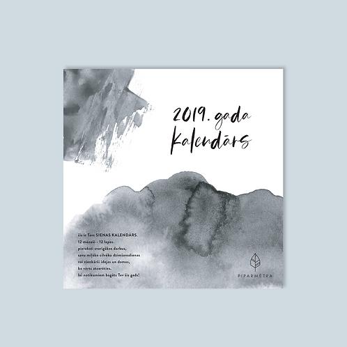 lielais SIENAS kalendārs 2019.gadam
