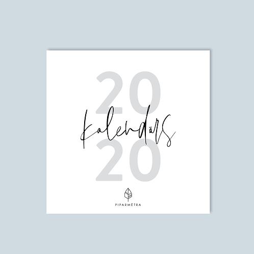 lielais SIENAS kalendārs 2020.gadam