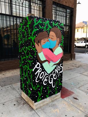 Los Angeles - Harvard Blvd and Venice Blvd.