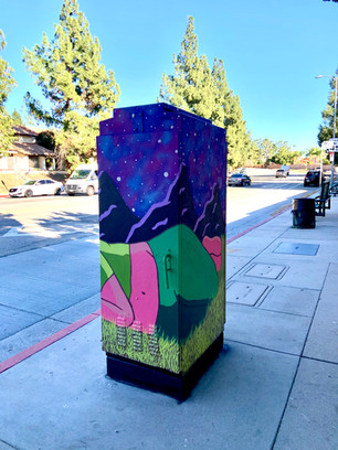 Located in Sylmar on  Yarnell St. and Foothill Blvd.   Commissioned by 11:11 A Creative Collective