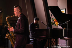 Matthew Alec Quartet Live at The Bop Stop Cleveland 2020 - Photo Courtesy See Factor Photography