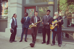 Matthew Alec and The Soul Electric at Give What You Take Video Shoot - Photo Courtesy Meghan Novisky