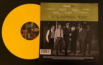 Cleveland Time Vinyl Rear