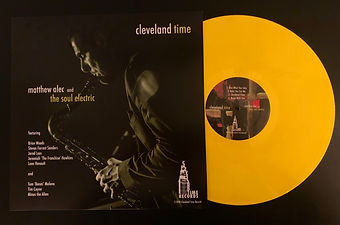 Cleveland Time Vinyl Cover