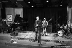 Matthew Alec Quartet Live 2020 at the Bop Stop Cleveland - Photo Courtesy See Factor Photography