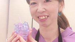 第21回アロマ部の活動はステンドグラス風アロマキャンドル作り