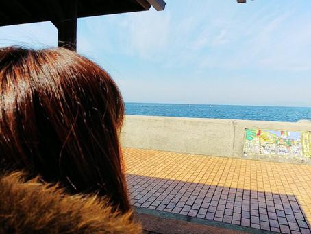 旅レポ♡諫早レッスンからの小浜温泉、橘湾を眺めながらの足湯と蒸気蒸し料理