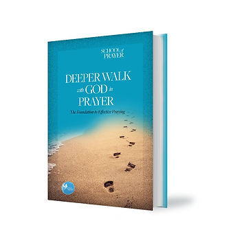 Deeper Walk with God in Prayer book cove