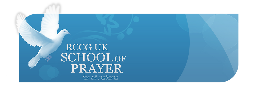 RCCG School of Prayer Website banner