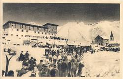 Vue de l'hotel en 1937