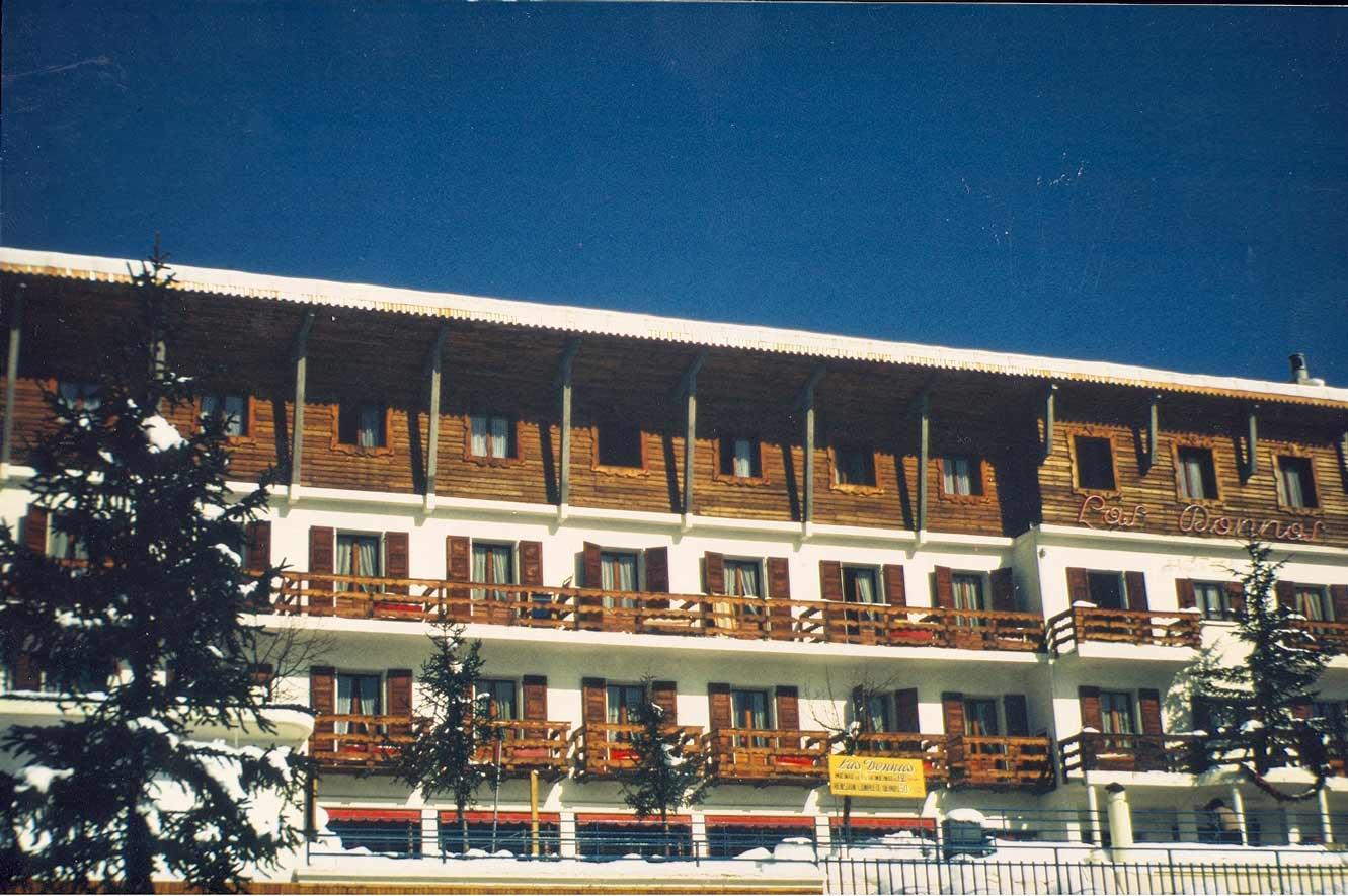 L'hôtel en 1950