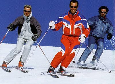 Le ski avec les moniteurs de l'ESF