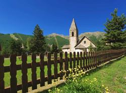 L'église d'Auron