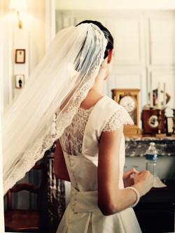 robe de mariée -couture angers