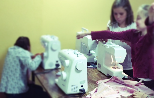 cours enfants - couture angers