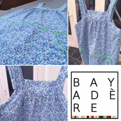 cours couture adulte/robe liberty