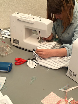 apprendre cours couture angers