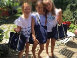 3 copines, 3 sacs