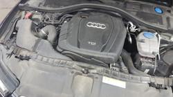 Audi Motorreinigung voher