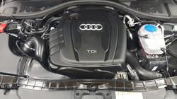 Audi Motorreinigung nachher