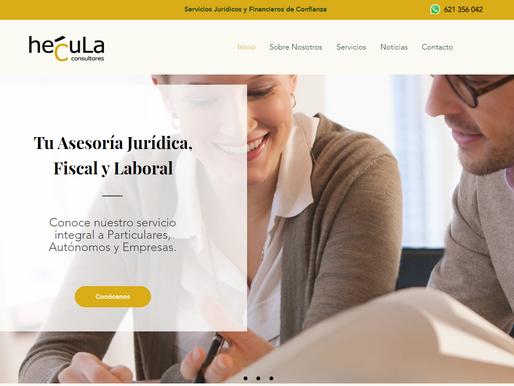 Estrenamos la nueva web de HÉCULA CONSULTORES