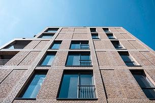Apartmentbuilding east facade