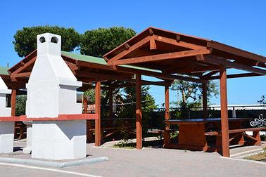 Area attrezzata per Grill e Picnic a Frascati