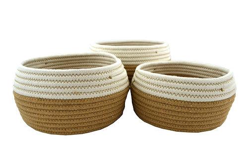 Basket Storage - Beige