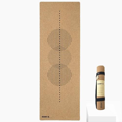 Revolve Cork Yoga Mat by Scoria | 4.5mm