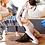 Thumbnail: Mountain Lion Cork Yoga Mat by Scoria | 4.5mm