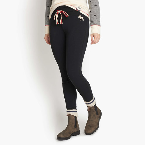 Women's Heritage Slim Fit Joggers in Black