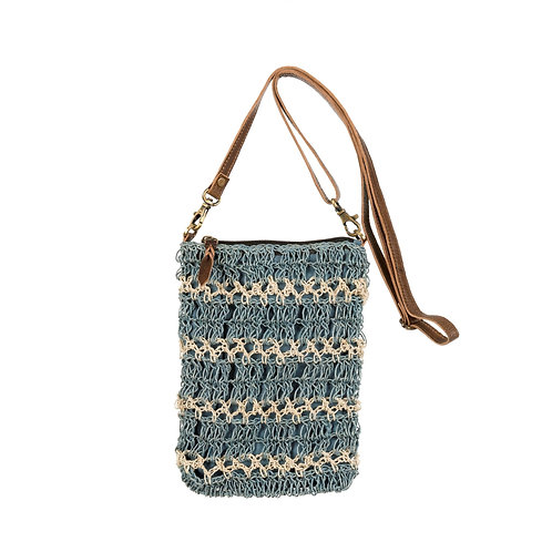 Marina Hemp Crossbody Bag