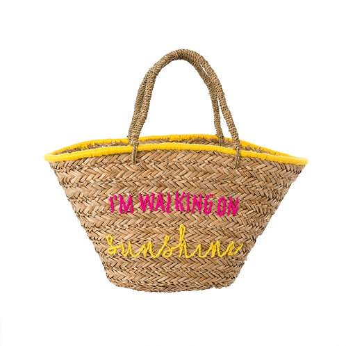 Walking on Sunshine Beach Bag
