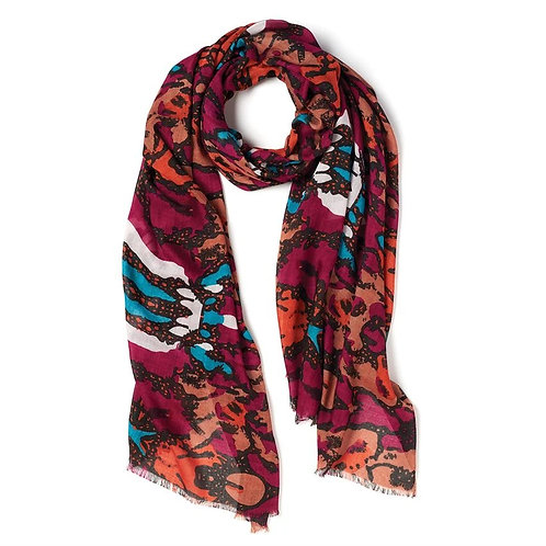 Hermosa Flowing Oblong Scarf
