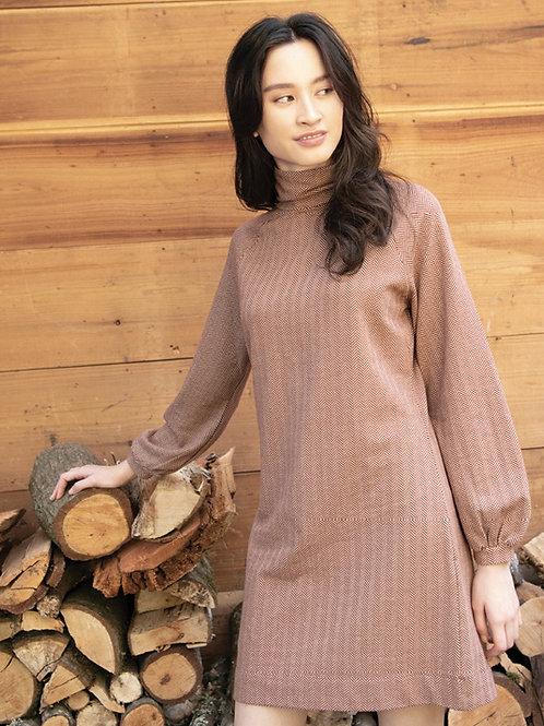 Phoebe Herringbone Dress