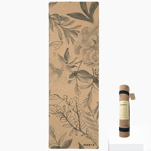 Blossom Cork Yoga Mat by Scoria | 4.5mm